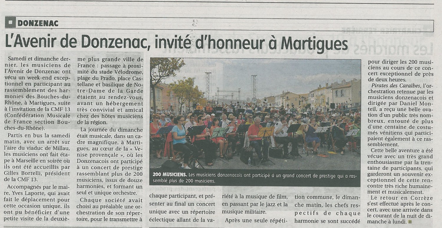 Article Martigues